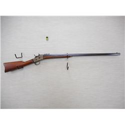 REMINGTON , MODEL: ROLLING BLOCK , CALIBER: 40-70  WIN , REM, WHITNEY ??