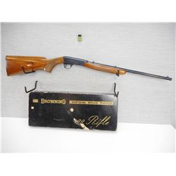 BROWNING  , MODEL: SEMI-AUTO , CALIBER: 22 LONG