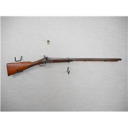 JOSEPH BOURNE & SON , MODEL: SIDE BY SIDE PERCUSSION MUZZLE LOADER  , CALIBER: 12GA
