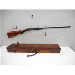 RARE CUSTOM, WILLIAM EVANS , MODEL: BRITISH CUSTOM  ROOK RIFLE BREAK ACTION  , CALIBER: 297/250 ROOK