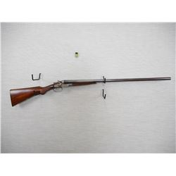 W. WALLAS. , MODEL: SIDE BY SIDE  , CALIBER: 12GA X 2 3/4""