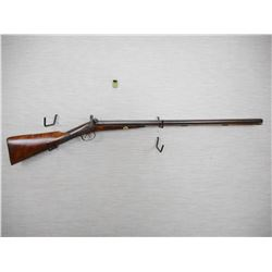 UNKNOWN  , MODEL: PERCUSSION SIDE BY SIDE  , CALIBER: 12 BORE