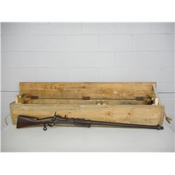 RARE WALL FORTRESS GUN, LEIGE  , MODEL: SINGLE SHOT  , CALIBER: 75 CAL