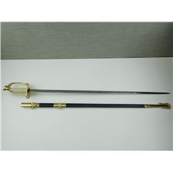 THAILAND COPY OF USN SWORD WITH SCABBARD