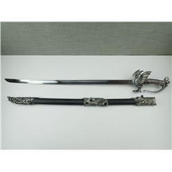 DRAGON FANTASY SWORD WITH SCABBARD