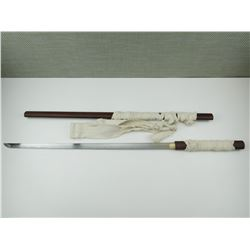 REPRODUCTION SAMURI SWORD WITH SCABBARD