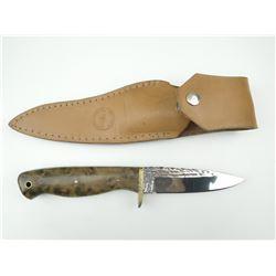 ERIC SEGUIN BELT KNIFE WITH SHEATH