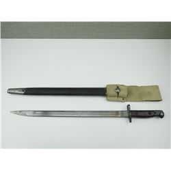 LEE ENFIELD 1907 PATTERN BAYONET WITH SCABBARD