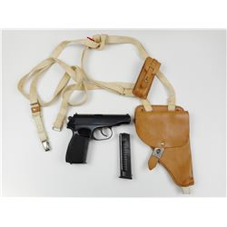 MAKAROV  , MODEL: PISTOLE M  , CALIBER: 9MM MAKAROV