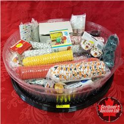 CHOICE OF 2 Groups: Catering/Deli Trays (3) w/Contents (Cupcake/Choc Cups, etc.)