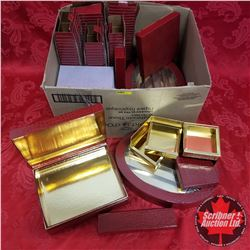 """Box Lot: Variety """"Red"""" Packaging (Faux Reptile Motif)"""
