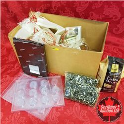 Cargo & James Tea, Bags, Moulds, Cocoa Powder