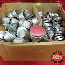 Silver Tins & Tops (Box Full)