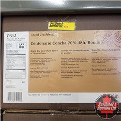 CHOICE OF 6 BOXES: Chocolate - Felchlin : Centenario Concha 70%-48h, Rondo Grand Cru Couverture Dark