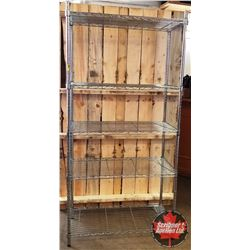 Shelving Unit - Stainless