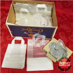 Gift Shop Bags (Clear) w/Handle & Small Purchase Bags