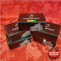 5 Boxes Chocolate Coppeneur (750 grams per box): Apotequil 72% Cacao Pur & 62% Cacao Pur (4) ; Chili