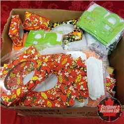 Large Variety Packaging Floral / Polk-a-dot, etc !