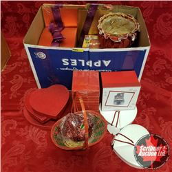 Box Lot: Valentine's/Red Theme - Variety Packaging