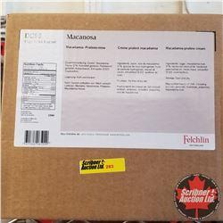 Filler Felchlin - 2 Boxes - Macanosa Macadamia Praline Cream (1 Box = 5kgs)