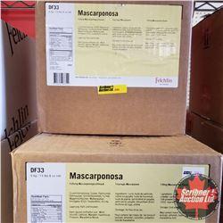 Filler Felchlin - 3 Boxes - Mascarponosa Filling Mascarpone Flavor (1 Box = 6kgs)