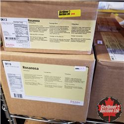 Filler Felchlin - 6 Boxes - Rosanosa Filling Rose (2 Boxes = 2.5kgs & 4 Boxes = 6kgs)