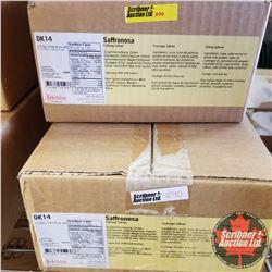 Filler Felchlin - 3 Boxes - Saffronosa Filling Saffron (1 Box = 2.5kgs)