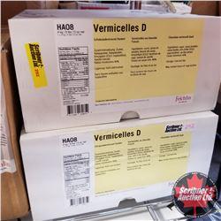 Filler Felchlin - 2 Boxes - Vermicelles D Chocolate Vermicelli Dark (1 Box = 4kgs)