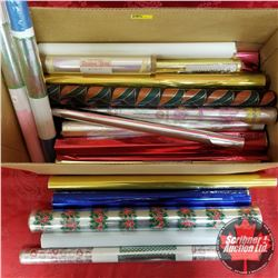 Large Variety Rolls of Foil & Wrapping Paper