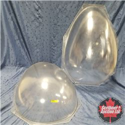 "Very Large Hard Plastic Egg Mould 30""H"