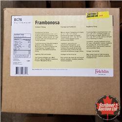 Filler Felchlin - 1 Box : Frambonosa Raspberry Filling (1 Box = 6kgs)