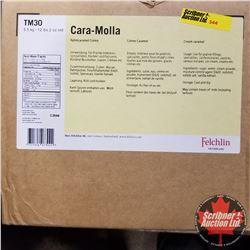 Filler Felchlin - 1 Box : Cara-Molla Cream Caramel (1 Box = 5.5kgs)
