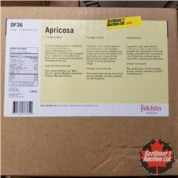 Filler Felchlin - 1 Box : Apricosa Filling Apricots (1 Box = 6kgs)