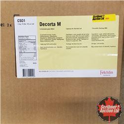 Filler Felchlin - 1 Box : Decorta M Chocolate Shavings Milk (1 Box = 3kgs)