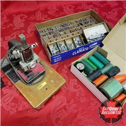 Kingsley Stamping Machine w/Foils & Type Sets