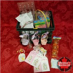 Plastic Crate: Easter Theme - Baskets, Moulds, Bags, etc