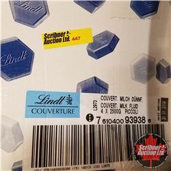 CHOICE OF 4 Boxes : Chocolate Lindt Piccoli Couverture Milk (1 Box = 10kg)