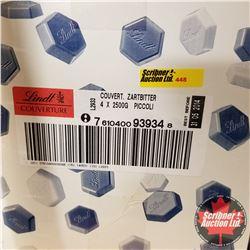 CHOICE OF 8 Boxes : Chocolate Lindt Piccoli Couverture Zartbitter (1 Box = 10kg)