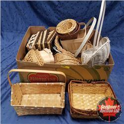 Box of Baskets ! Large Variety
