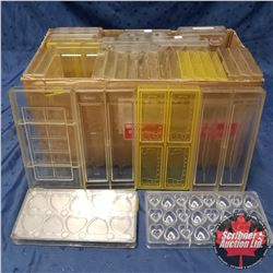 Hard Plastic Moulds - Variety (37) !