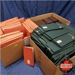 BOX LOTS (3): Variety Felchlin Books & Packaging (Peach, Green, Brown)