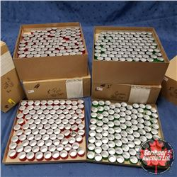 4 Boxes of Red/Green Foil Cups