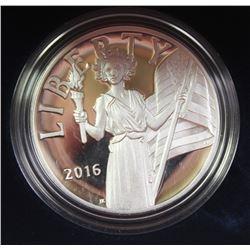 AMERICAN LIBERTY SILVER MEDAL 2016