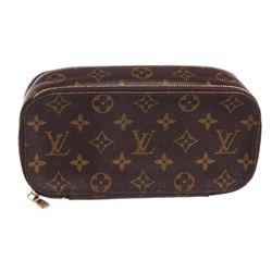 Louis Vuitton Vintage Monogram Trousse Brosse GM Cosmetic Pouch Bag