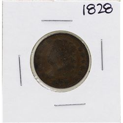 1826 13 Stars Draped Bust Half Cent Coin
