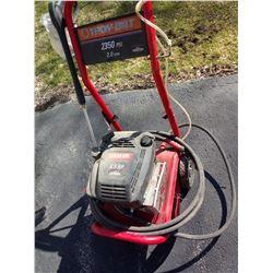 TROY-BUILT 2350 PSI PRESSURE WASHER