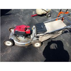 HONDA EASY START PUSH MOWER WITH BAG