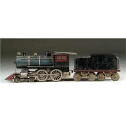 LIONEL STANDARD GAUGE #6 LOCOMOTIVE WITH MATCHING TENDER