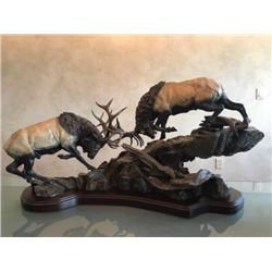 PRIMITIVE FORCE BRONZE by LORENZO GHIGLIERI: RETAIL $32,000.00 CURRENT