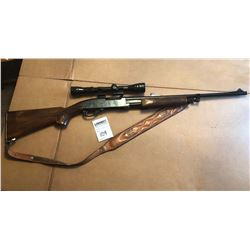 REMINGTON MODEL 760 PUMP ACTION w REDFIELD SCOPE